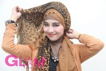 Tutorial Hijab Star Glam Magazine