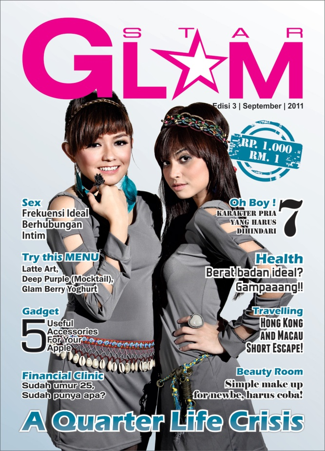 Tika & Tiwi on Star Glam Magazine cover