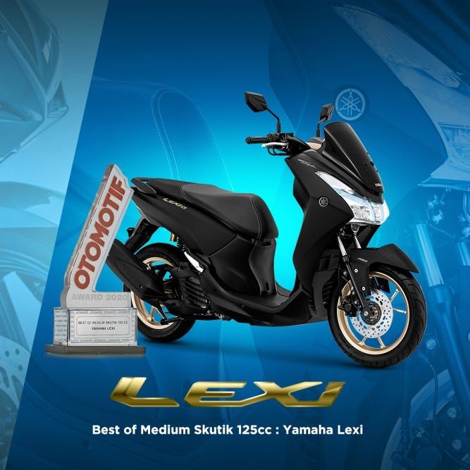 Yamaha Lexi - Best of Medium Skutik 125cc