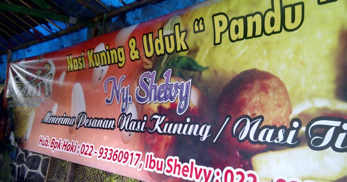 Bandung Culinary: Nasi kuning & uduk 'PANDU'